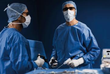 呼吸器外科手術(単孔式)