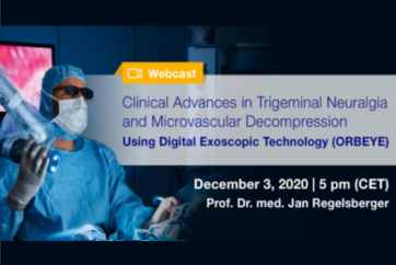 Webcast in Microvascular Trigeminal Decompression