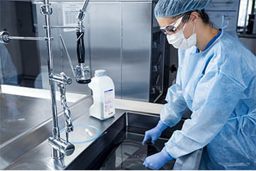Pre-Cleaning, Manual Cleaning & Disinfection
